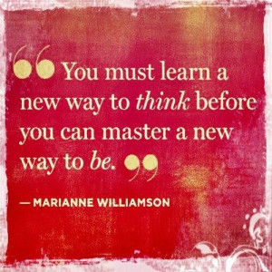 must learn a new way to think. Therapy helps with depression.