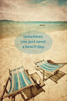 Beach Quotes l www.CarolinaDesigns.com Beach Chairs, Beach Sayings ...