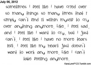 Quotes About Feeling Numb