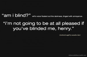 will herondale quotes