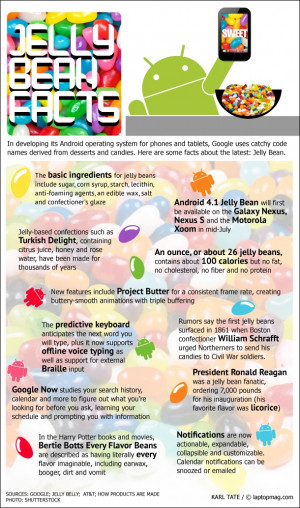 Infographic: Android and Jelly Bean Fun Facts