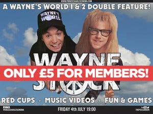 WAYNESTOCK - Schwing Along With Waynes World 1 & 2