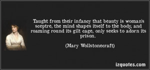 ... Vindication of the Rights of Woman (1792)] ―Mary Wollstonecraft