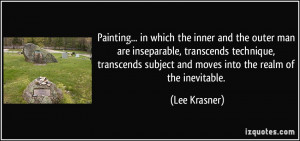 More Lee Krasner Quotes