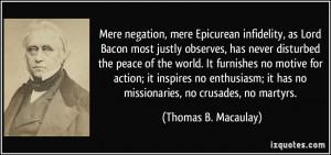 Infidelity Quotes More thomas b. macaulay quotes