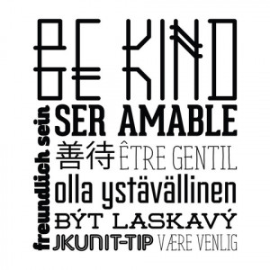 Home › Be Kind - Office Quote Wall Decals