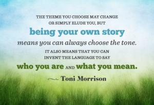 Morrison Quote