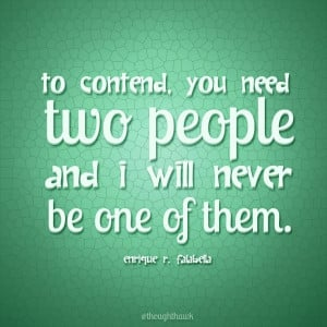 To Contend... | Creative LDS Quotes