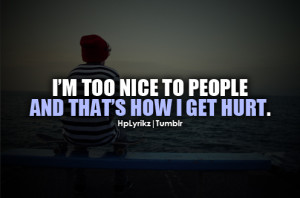 im too nice quotes