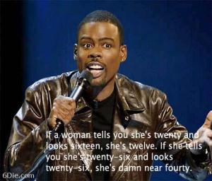 Age Of Women, According To Chris Rock