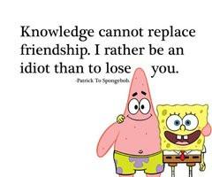 Spongebob Quotes About Best Friends Best friend qu Spongebob