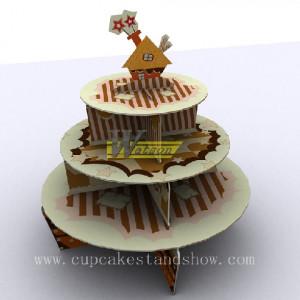 custom cardboard cupcake stand cs 28 birthday theme cardboard cupcake