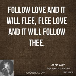John Gay Love Quotes
