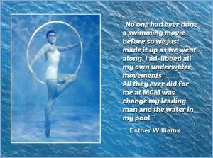 Esther Williams - Movie Actor Quote - Film Actor Quote - # ...