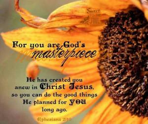 am God's Masterpiece