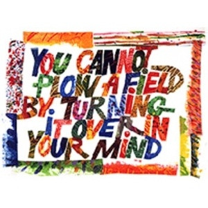 Turn Eric Carle style art into a dr suess framed quote from