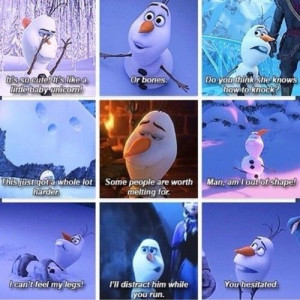 Olaf Quotes Disney Frozen