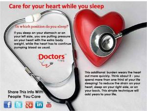heart,healthy tips,sleeping position, healthy living,