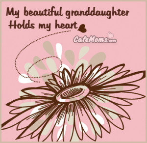 My Beautiful Granddaughter holds my heart Facebook Graphic