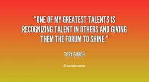 Inspirational Quotes About Talent