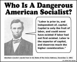 Are Bernie Sanders and Abraham Lincoln both socialists?