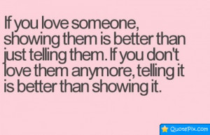 Quotes About Telling Someone You Love Them