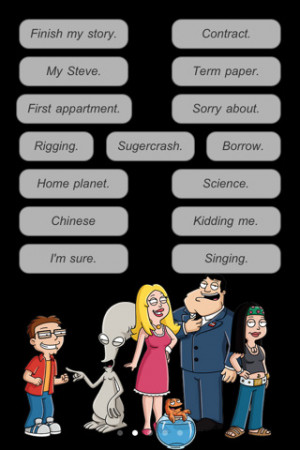Tags : quotes , american , american dad