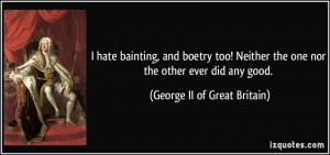 More George II of Great Britain Quotes