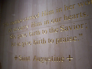 St. Augustine's quote