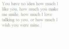 wish you were mine more about you quote words every girls heart ...