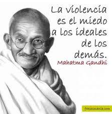 Hablar de Mahatma Gandhi, es reconocer su condición de luchador, sin ...