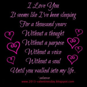 Lovely I love you Quotes 2014