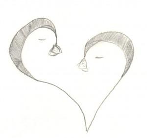 Penguin Love Penguin love by emmi-kat