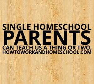 ... Blog Hop} What Successful Single Homeschool Parents Have to Teach Us