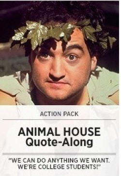 ... Park presents Action Pack: Animal House Toga Party and Quote-Along
