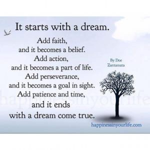 make dreams happen.