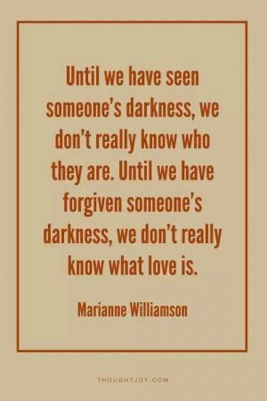 Love & forgiveness