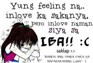 saklap sad tagalog quotes inlove na siya sa iba saklap sad tagalog