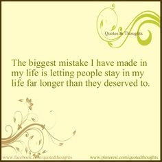 Biggest Mistake. | Quotes & Thoughts