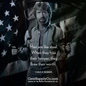 Quotes for the Modern Gentleman #2: Chuck Norris