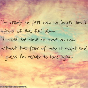 Ready to Love Again Quotes