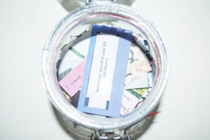 had a look through some of the quotes and lyrics that are in the jar ...