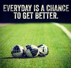 Motivation – Everyday is a Chance to get better