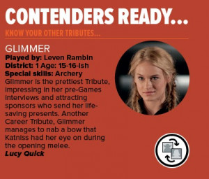Glimmer - the-hunger-games Photo