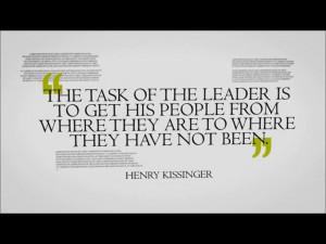 leadership keep faith achieve success do what task of leader