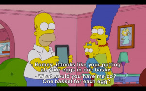 Homer is spot on with his observations