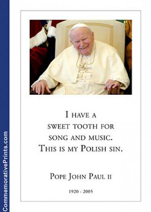 Pope John Paul Ii Quotes Pope john paul ii pictures