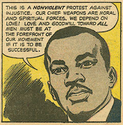 """nonviolence martin luther king jr Although dr martin luther king, jr 1958 essay """"an experiment in love,"""" in which he examines the six essential principles of his philosophy of nonviolence."""