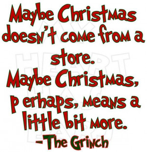 Printable DIY How the grinch stole Christmas iron on transfer digital ...