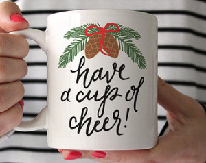 Christmas Coffee Mug, Printable Wis dom Ceramic mug, coffee quote mug ...
